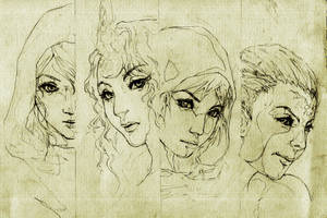 DOTA Allstars - The Four beauties by KenshjnPark
