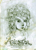 Daily Sketch - AIUSTHA The Enchantress by KenshjnPark