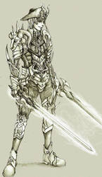 Larothram - The Dragon Knight by KenshjnPark