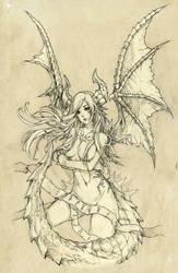Dragon Prisoner by KenshjnPark