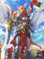 Roxy- The Paladin Angel by KenshjnPark