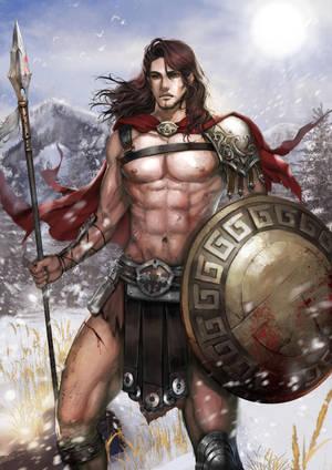 Sparta Soldier by KenshjnPark