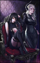 Sisters of Darkness by KenshjnPark
