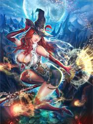 Witch Miria by KenshjnPark
