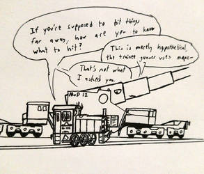 Winifred the Army Shunter Doodle by Rockyrailroad578