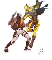 COM Nightclaw vs Jager by chou-roninx