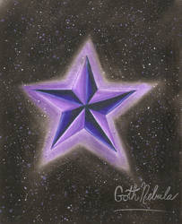 Star of an Artist by GothNebula