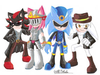 The Hedgehog Heroes by GothNebula
