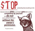 STOP ART THEFT by Scourge-fan2
