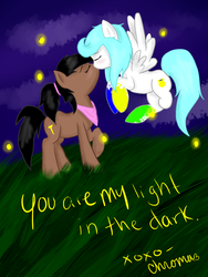 My light in the Dark by ChromaCatto