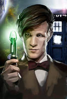 11th Doctor by MioRose