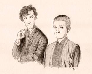 Lets Draw Sherlock by Spiegelfaenger