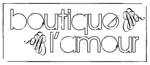 Logo: boutique l'amour by Jonacid