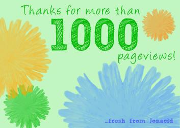 Thanks 1000+ by Jonacid