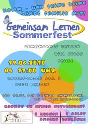 Poster: GL Sommerfest by Jonacid
