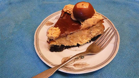 Peanut Butter Buckeye Cheesecake (Youtube Video) by KupcakeKitty