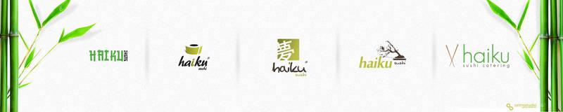 haiku sushi logotype by t3t5uo