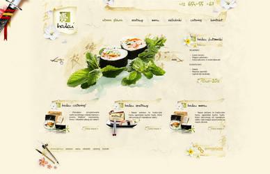 haiku sushi web by t3t5uo