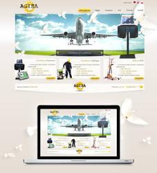 agisa website by t3t5uo