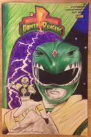 Power Rangers Comic Cover Sketch Kevin Munroe by kevinsunfiremunroe