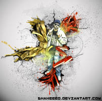 Zakabstract 3D white by shaheeed