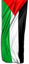 Palestine 3D flag by shaheeed