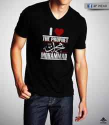 I heart the prophet T shirt by shaheeed