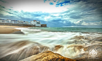 Assilah Beach Morocco by shaheeed
