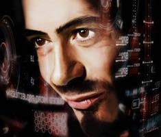 Tony Stark by JustKari