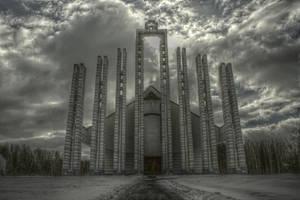 Elektrenai church by grepov