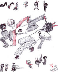 Dave Gamzee and Pantskat by Go2-Chan