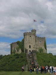 Cardiff Castle: the Motte by Syltorian