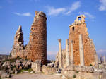 The Two Towers (of Perge) by Syltorian