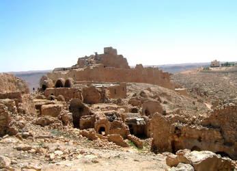 Berber Castle by Syltorian