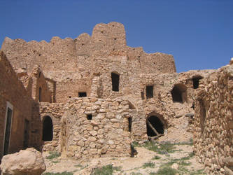 Bricks in the Desert by Syltorian