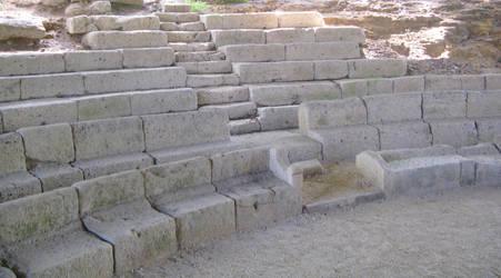 Roman Theatre in Dalheim by Syltorian