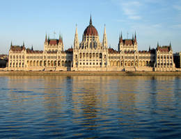 Hungarian Parliament by Syltorian