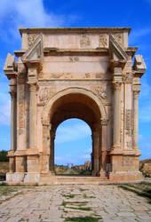 Severan Arch by Syltorian