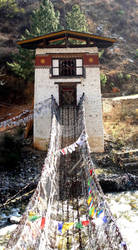 The Bridge of the Madman of the Empty Valley by Syltorian