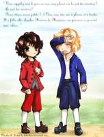 Lestat and Nicolas: Childhood by bibi-chan