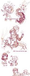 Sketches page :: FreyaxVolkner by bibi-chan