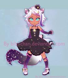 OPEN Adopt :: Purple Nebula kitten :: by bibi-chan