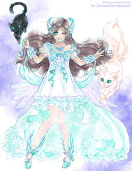 Arielle :: Angel Queen :: commission by bibi-chan