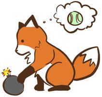 Stupid Fox fanart by Princess-Snowdust