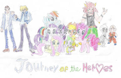 Journey of the Heroes title card by haleigh426