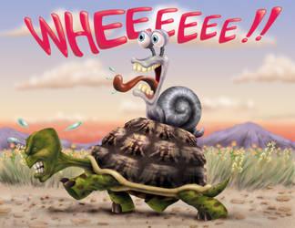 Snailride by drejil