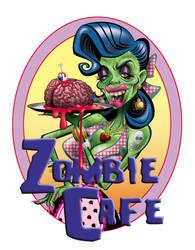 The Zombie Cafe by drejil