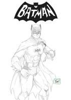 Classic Batman by Lion542