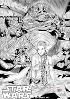 Toni Gutierrez Art Star Wars Leia by Lion542