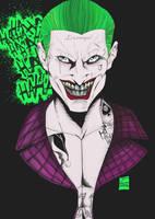 Toni Gutierrez joker color fondo by Lion542